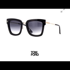 Tom Ford Lara Sunglasses Black